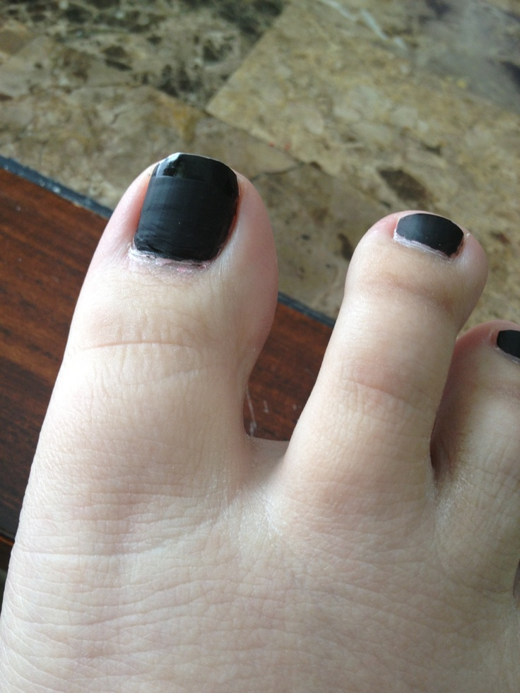 Matte Magic And Black On Toe Nails Products I Love Pinterest
