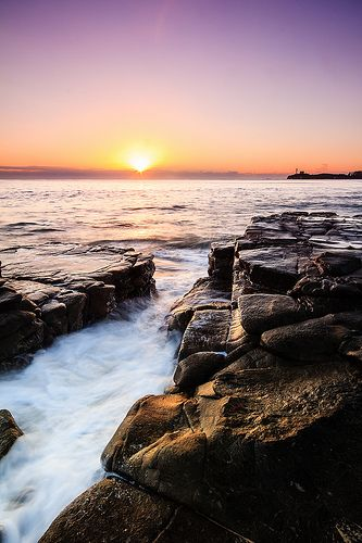 Mooloolaba Beach - Sunshine Coast, Queensland Australia .....Sunrise