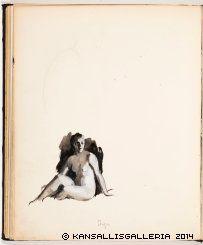 Kansallisgalleria - Taidekokoelmat - Luonnoskirja