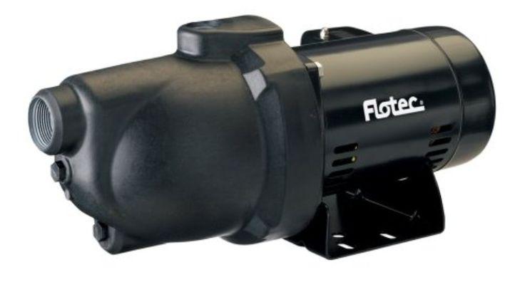 Flotec FP4012-10 Shallow Well Pump Jet, 1:2 HP