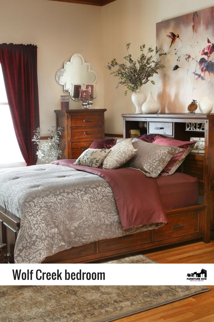 Beautiful The Rustic Wolf Creek Bedroomu0027s Surfaces Are Hand Planed, Giving The Solid  Acacia And