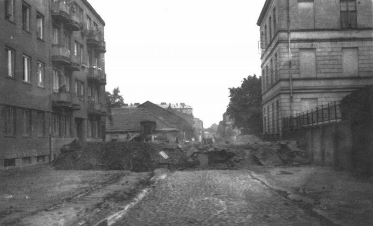 Warsaw Zytnia street 1944