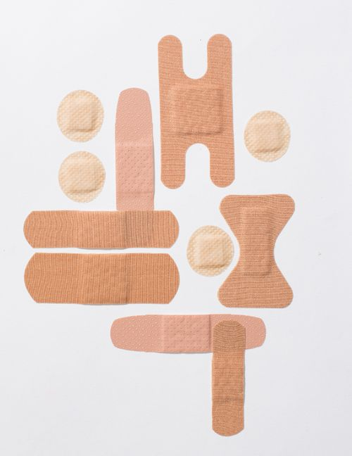Plasters/band aid.