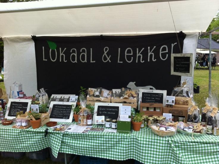 Doek Lokaal & lekker. www.lokaalenlekker.nl