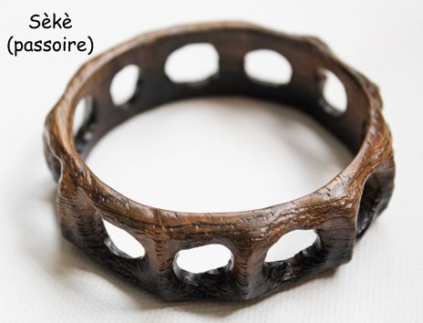 Bracelet en wengé