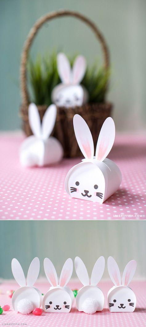 Printable Easter Bunny Treat Boxes 837 best