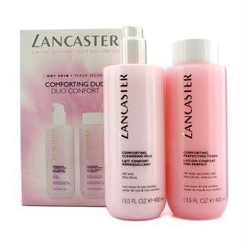 Lancaster - Limited Edition Set: Cleansing Milk 400ml + Toner 400ml (For Dry Skin) - 2pcs Restricted Version Set: 1x Comforting Cleaning Milk 400ml/thirteen.5oz 1x Comforting Perfecting Toner 400ml/thirteen.5oz Perfect each for private use & as a present  https://skincare.boutiquecloset.com/product/lancaster-limited-edition-set-cleansing-milk-400ml-toner-400ml-for-dry-skin-2pcs/