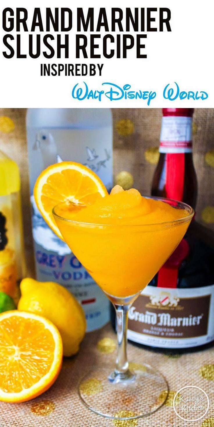 Drinking Around Epcot Guide Plus Frozen Grand Marnier Slush Recipe