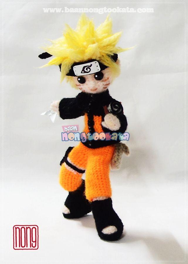 Amigurumi Naruto Pattern : Naruto, Amigurumi ,crochet doll, Crochet,Cute Doll ...
