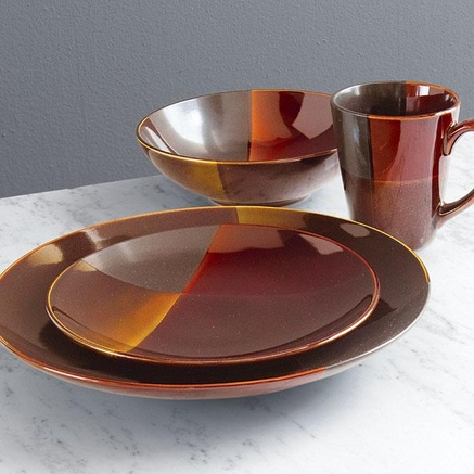 Gibson Convergence Dinnerware Set | Droughtrelief.org