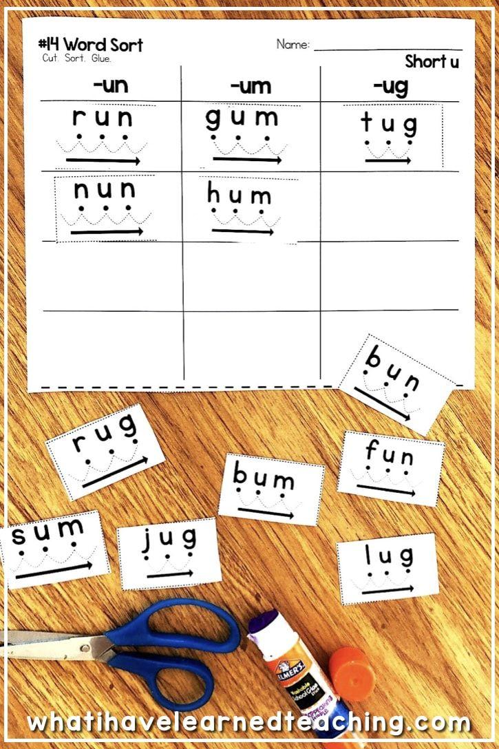 Short U Phonics Worksheets Activities In 2021 Phonics Kindergarten Word Work Centers Phonics Worksheets [ 1088 x 725 Pixel ]