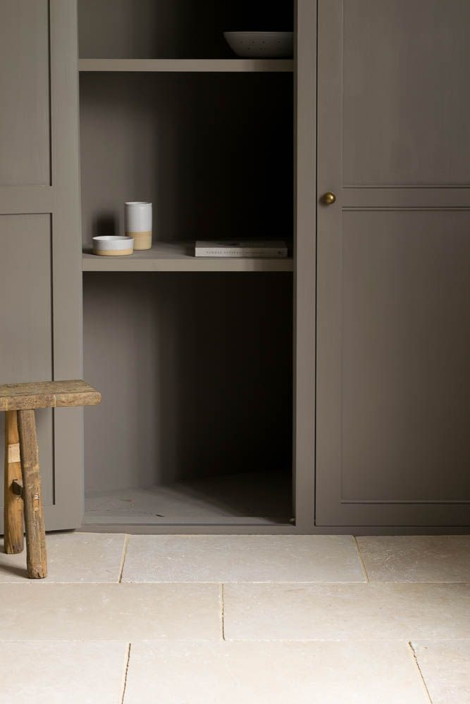 Gorgeous Moody Vibes In This Room Are Stopped Being Too Oppressive By Our  Light Tumbled Travertine Flooring.