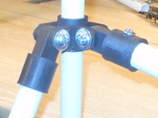 PVC pipe construction set by DonaldJ - Thingiverse