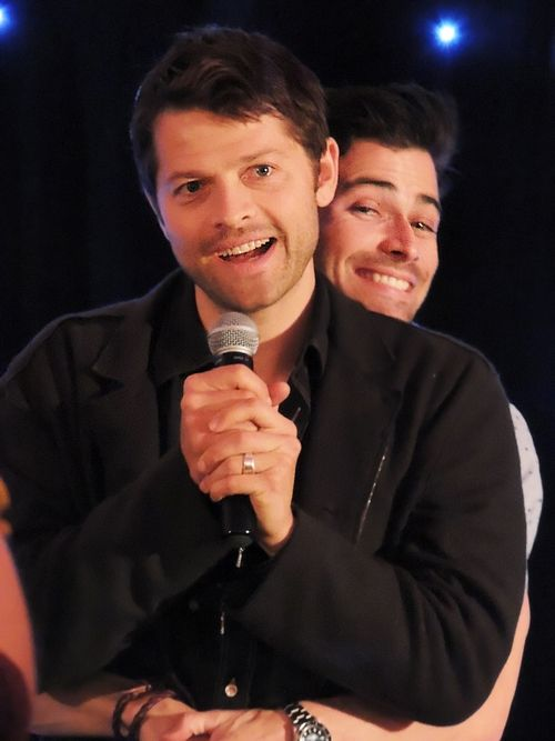 Matt and Misha at Asylum 10