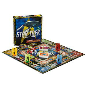 This board game is set up on the premise that if you win this particular challenge, you land an internship on the U.S.S. Enterprise. Sweet.