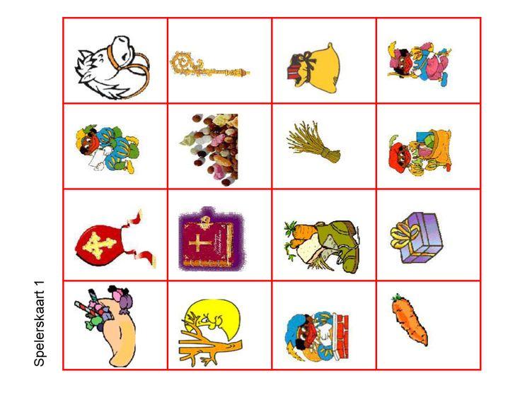 Bingo - spelerskaart1