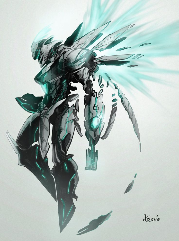 Concept - Protoknight, Full Render by *AenTheArtist on deviantART