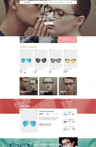 Last update: July 31, 2016 Leo Sunbox Responsive Prestashop Theme is a wonderful theme with 5 homepages. It is designed for diversified commodities as fashion store, pet store, drug store an...
