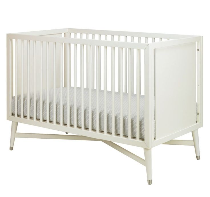 Rosenberry Rooms has everything imaginable for your child's room! Share the news and get $20 Off  your purchase! (*Minimum purchase required.) Mid-Century Convertible Crib in French White