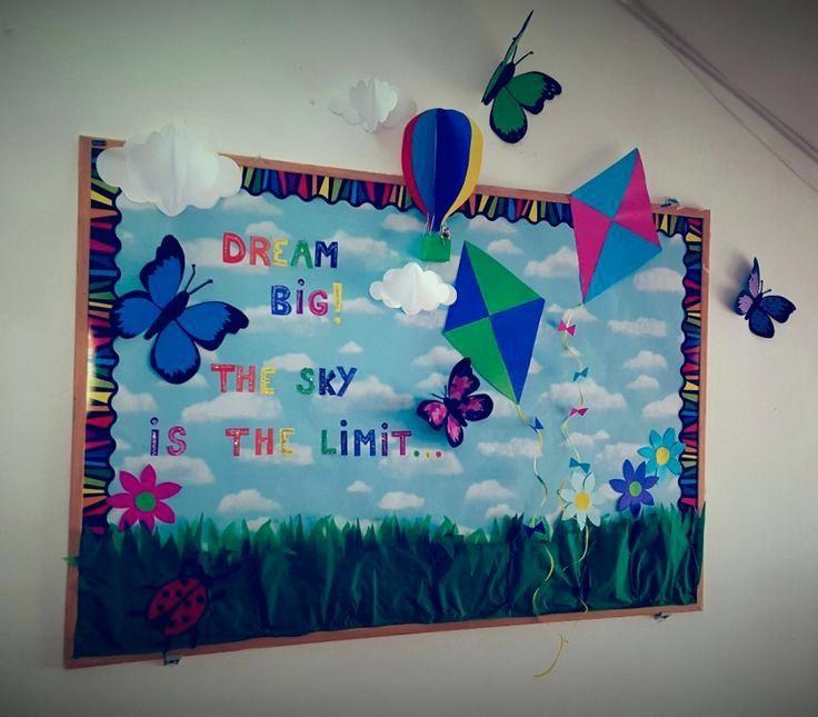 Classroom Notice Board Decoration Ideas ~ The best notice board decoration ideas on pinterest