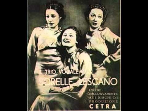 Trio Lescano e Maria Jottini - Maramao perchè sei morto