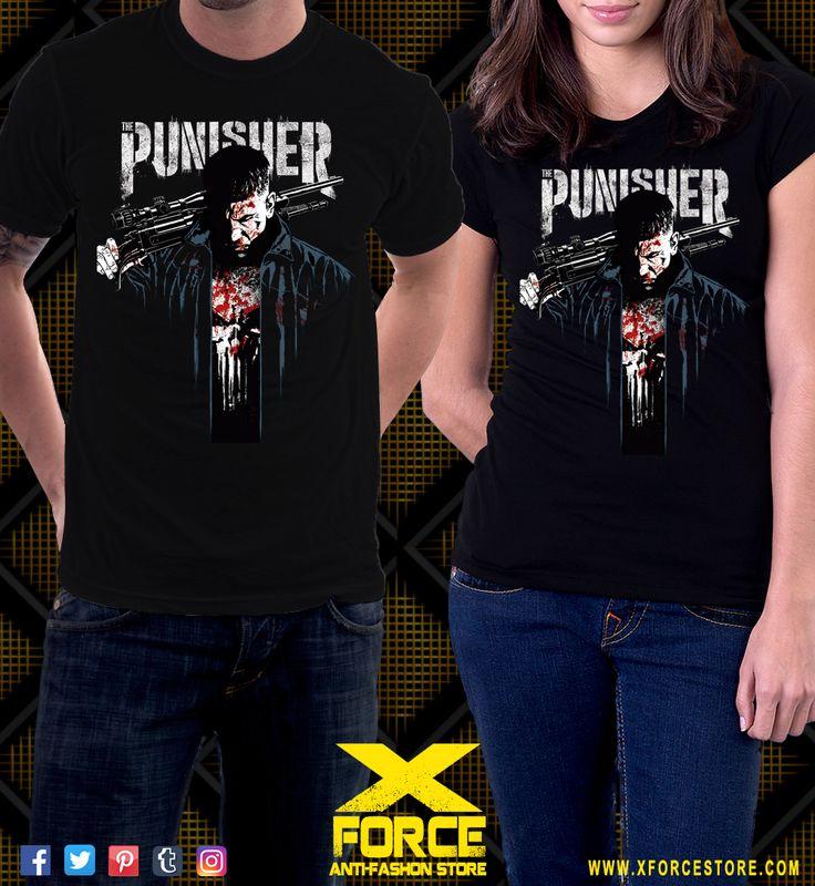 Camiseta The Punisher Netflix Jon Bernthal Justiceiro Series