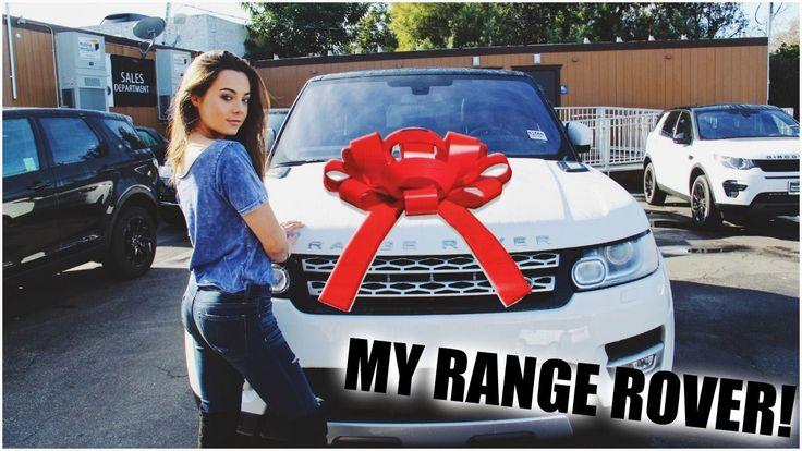I got a RANGE ROVER!!!! Car Tour!