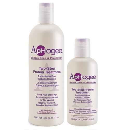 Aphogee  Step Protein Treatment On Natural Hair