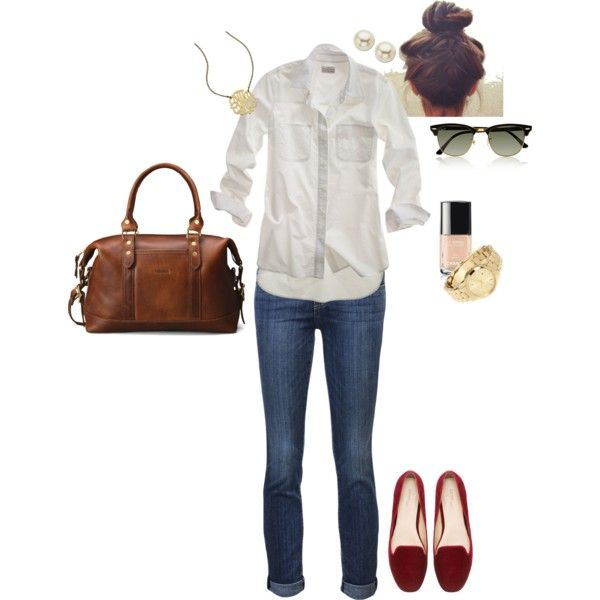 """""""Preppy Girl"""" by angela-reiss on Polyvore"""