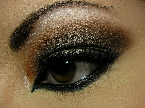 Smokey eye w/ a twist