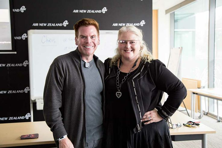 Discussing the future of technology #AirNZConnect #AirNZ #Technology #AirNZ