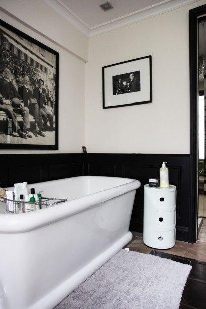 Module de rangement Componibili dans une salle de bains