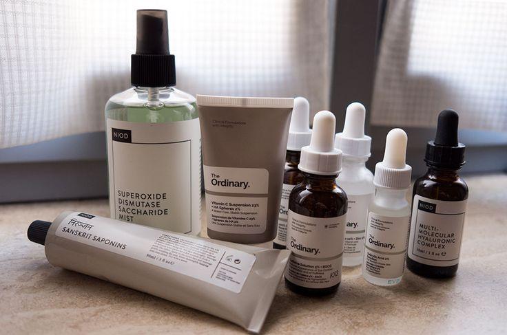 Skincare routine con The Ordinary e NIOD by Deciem
