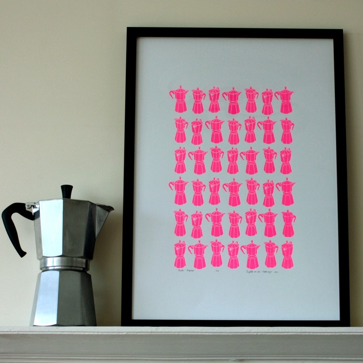 pink coffee pots