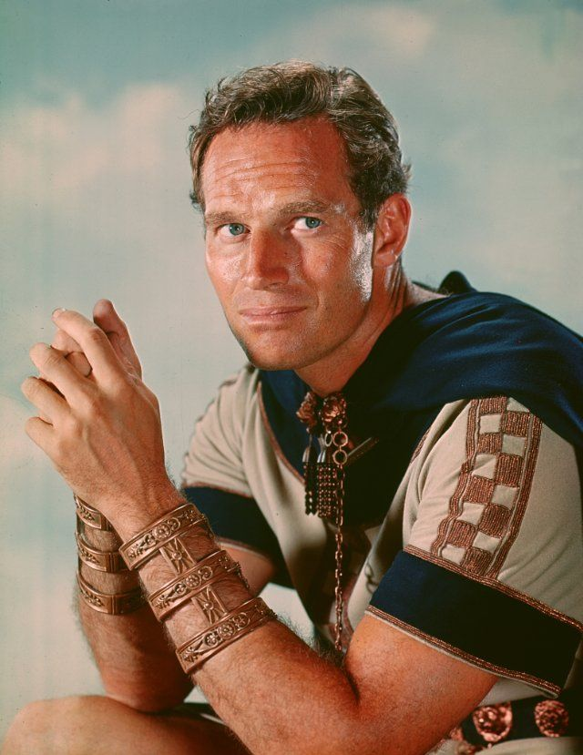 And then there was  Charlton Heston!  Loved Ben Hur and El Cid!