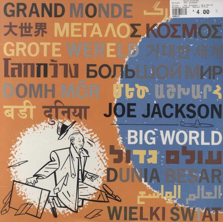 Joe jackson big world jackson song jackson album