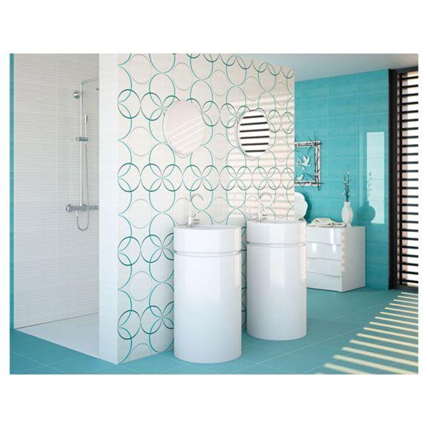 """La collection """"Dance"""" apporte dynamisme et créativité à votre salle de bain. La pose du carrelage peut être adaptée à toutes vos envies, ce qui fera de votre pièce une pièce unique. Elle plaira à tous de part sa déclinaison de couleurs."""