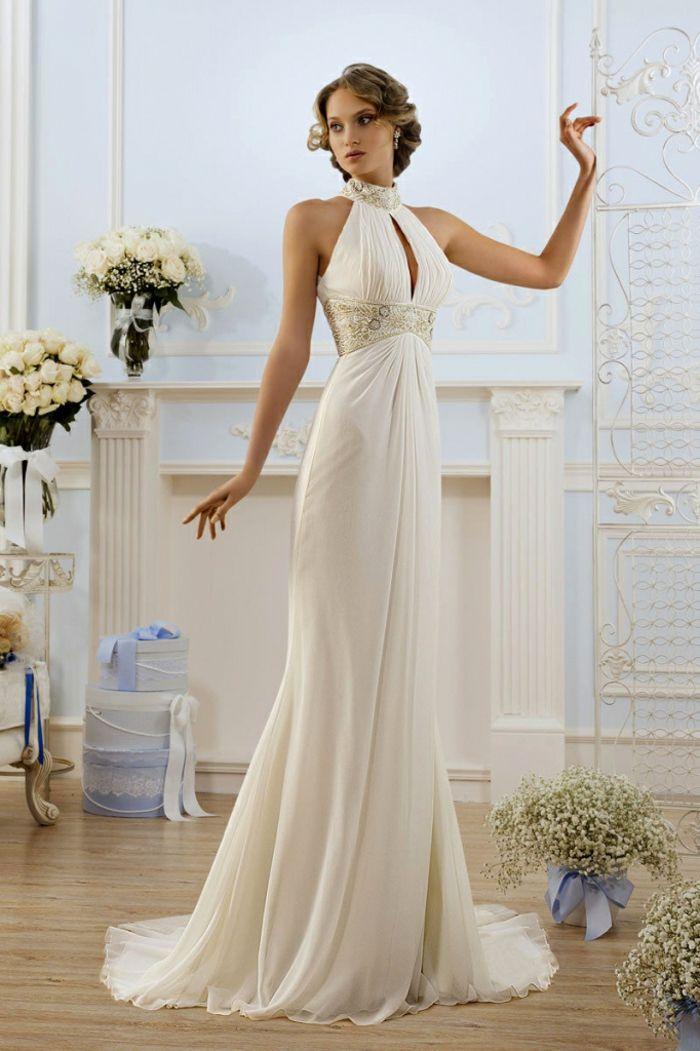 Locales de vestidos de novia sencillos
