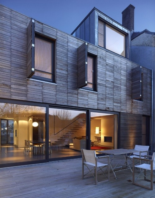 Youth suxModern House Design, Modern Exterior, Architects Urbanist, Dreams House, Interiors Design, Modern Architecture, The Village, Design Home, Steinmetzdemey Architects