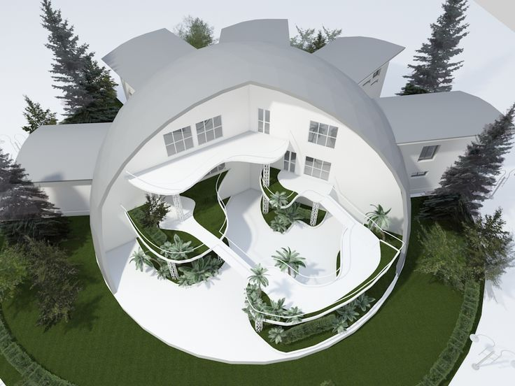 Динамика - купольные дома на заказ - Школа Детский сад