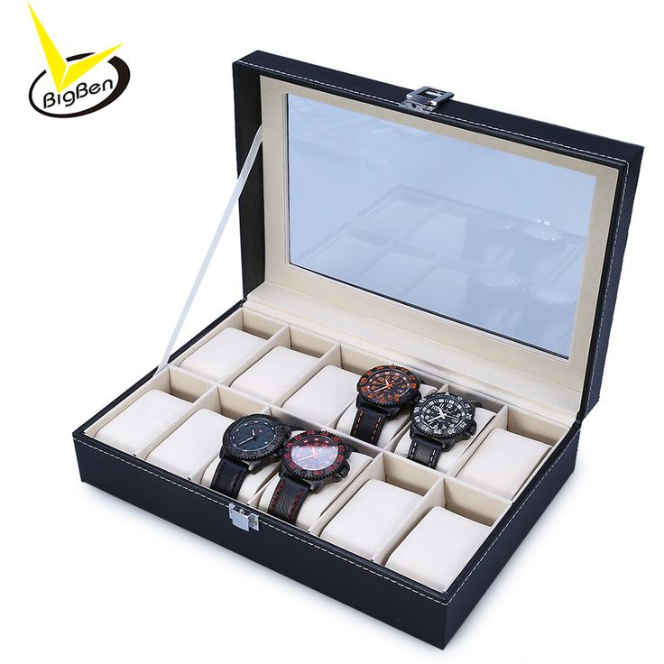 2016 New Arrival PU Leather 12 Slots Wrist Watch Display Box Storage Holder Organizer Watch Case Jewelry Dispay Watch Box #>=#>=#>=#>=#> Click on the pin to check out discount price, color, size, shipping, etc. Save and like it!