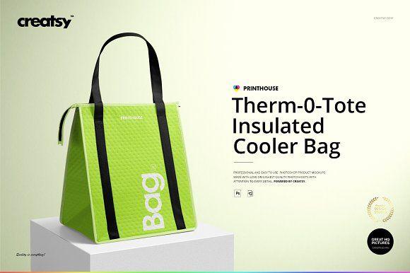 Download Therm O Tote Insulated Bag Mockup Bag Mockup Bags Insulated Bag