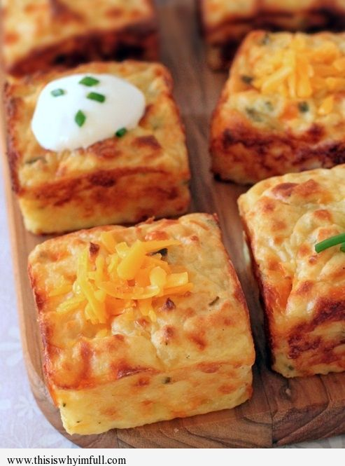 Leftover Mashed Potato Puffs...brilliant! I am always trying to figure out what…