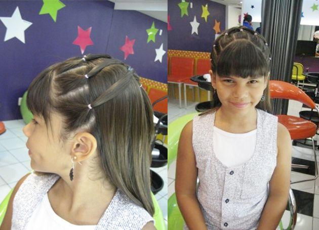 A principal tendência para os cabelos nesse verão é a trança, mas a moda não é só para as adultas. As menininhas também podem arrasar por aí com penteados trançados e fofos!