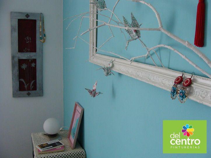 Curasao Azul y Blanco: luminoso, fresco y con aire marino. ¿En que habitación de tu hogar lo elegirías?