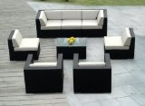 Genuine Ohana Outdoor Patio Wicker Sofa Sectional Furniture 8pc Gorgeous Couch Set with Free Patio Cover