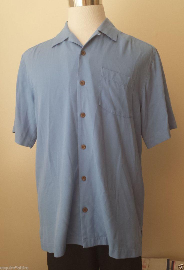 Shirt design gents - Tommy Bahama Men Size S Silk Hawaiian Blue Shirt Nwt Visit Our Ebay Store At