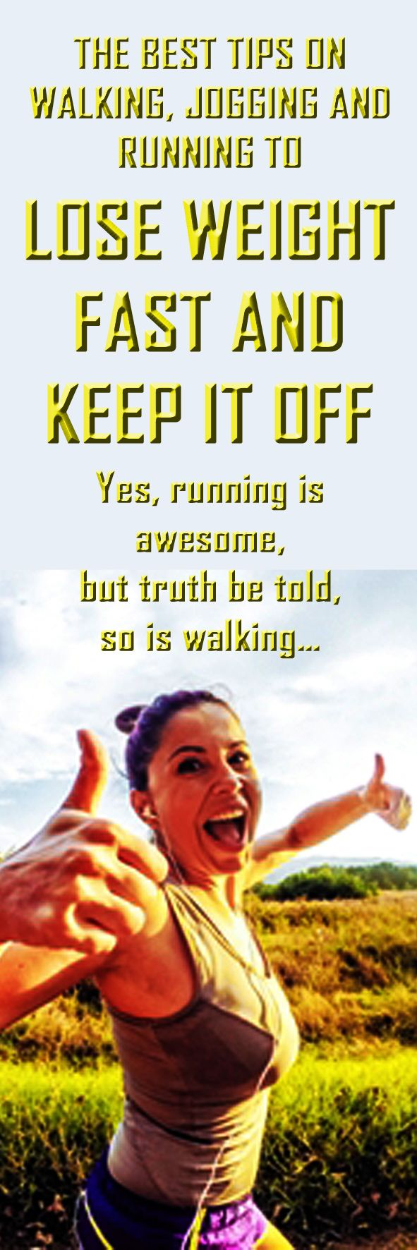Running to Lose Weight - .The best tips on walking, jogging  running to lose weight fast and keep it… - Learn how to lose weight running