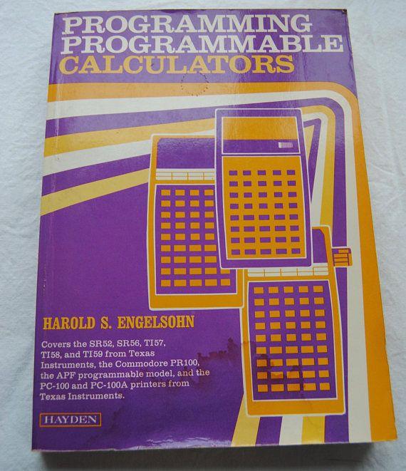 Calculator Book/Programmable Calculator Book/1978Programming
