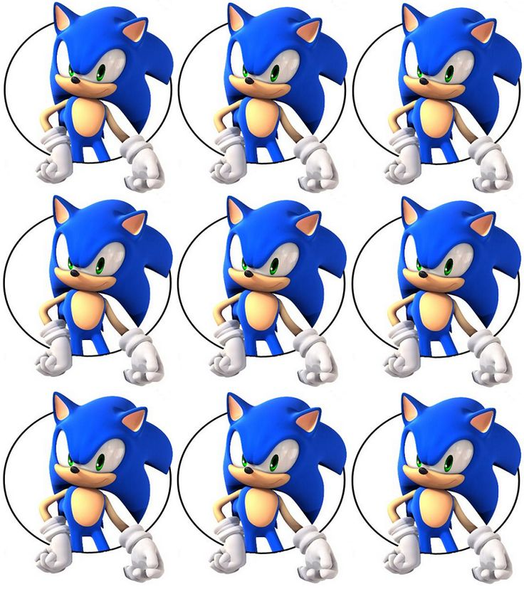 118 best images about Sonic Printables on Pinterest ...